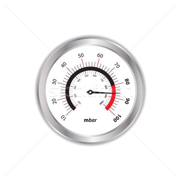 Különleges fehér víz óra orvosi monitor Stock fotó © place4design
