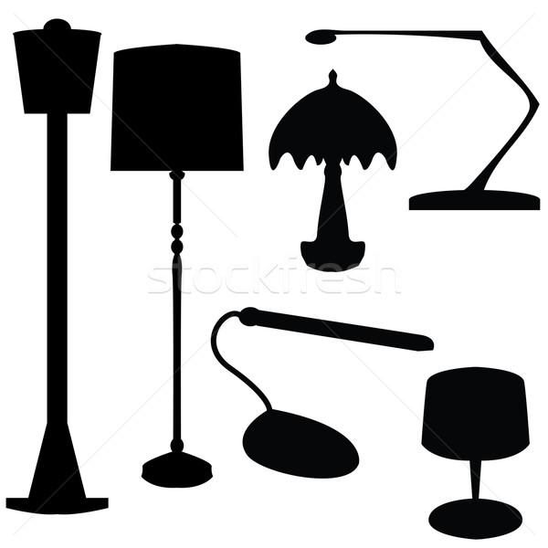 électriques lampes affaires lumière technologie art Photo stock © place4design