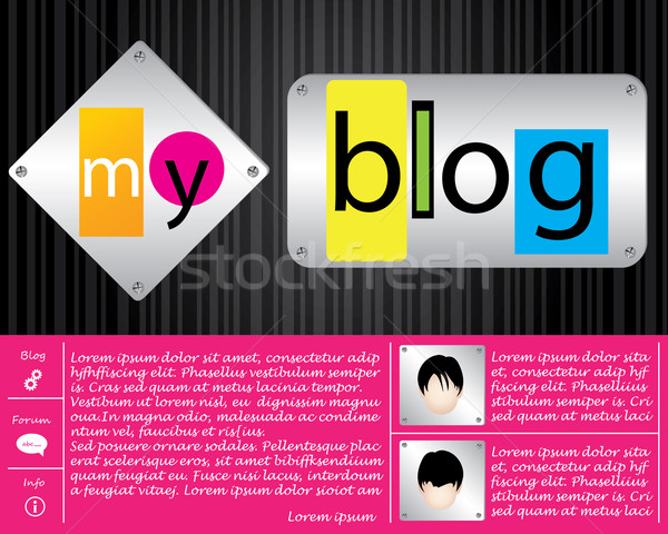 special website template Stock photo © place4design