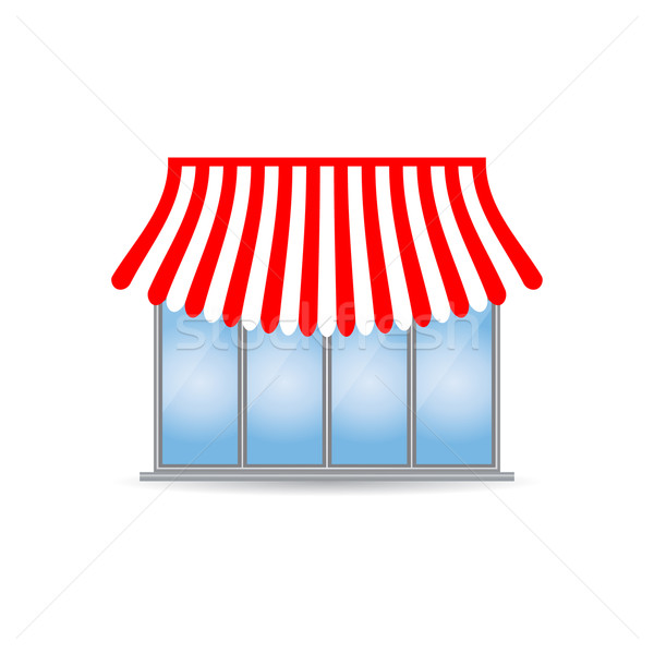 shop icon with special design Stock photo © place4design