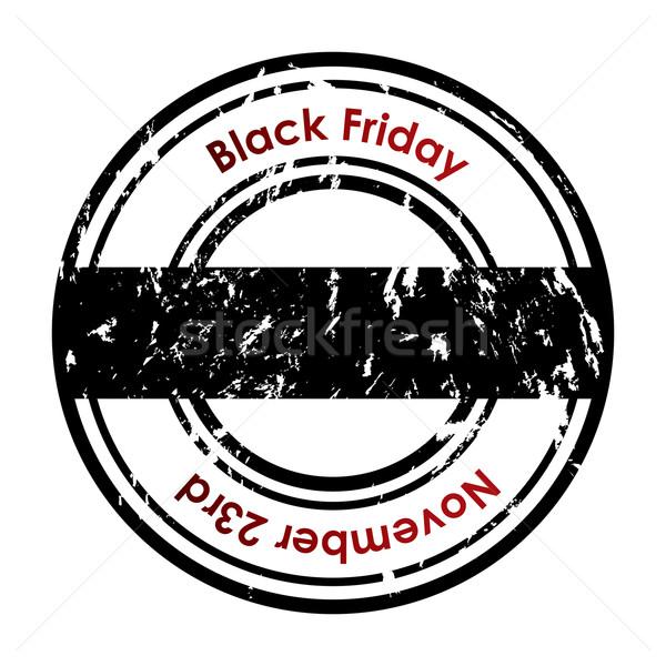 Photo stock: Grunge · black · friday · texte · bureau · signe