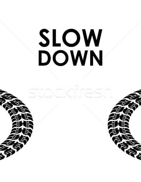 slow down transportation background Stock photo © place4design