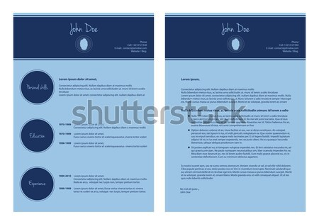 website design template with special design Stock photo © place4design
