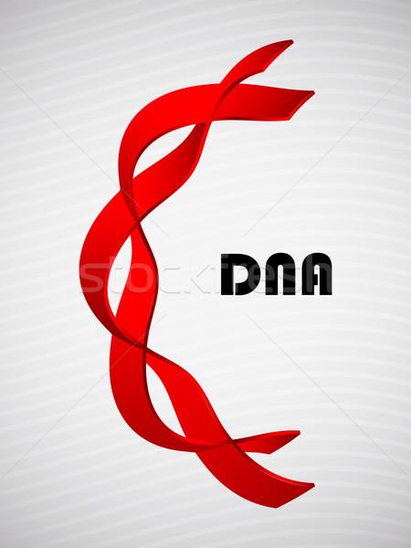 Dna abstrato médico saúde ciência cadeia Foto stock © place4design