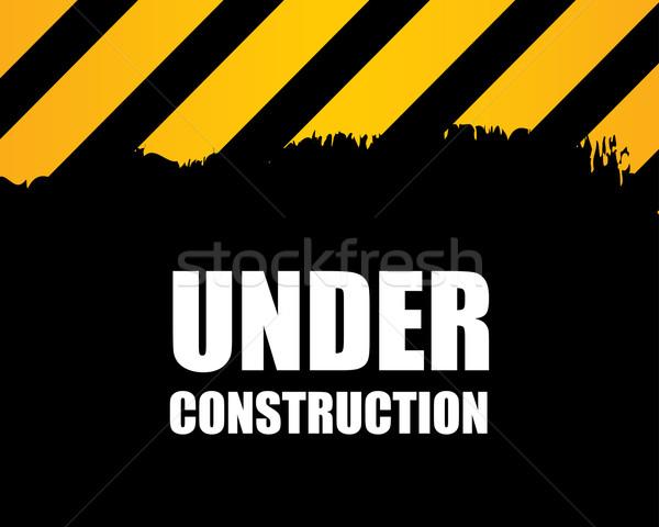Construção vetor trabalhar fundo segurança trabalhador Foto stock © place4design