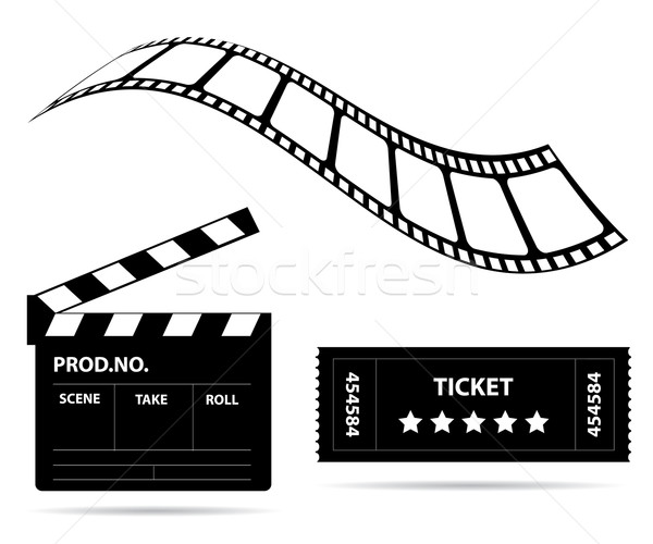 Film industry Stock photo © place4design