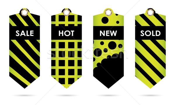 Vert prix spéciale noir design Photo stock © place4design