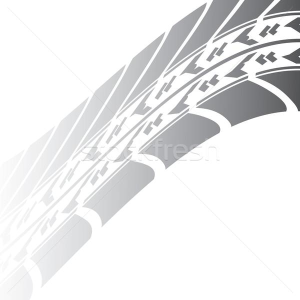 черный шин трек дизайна транспорт сайт Сток-фото © place4design