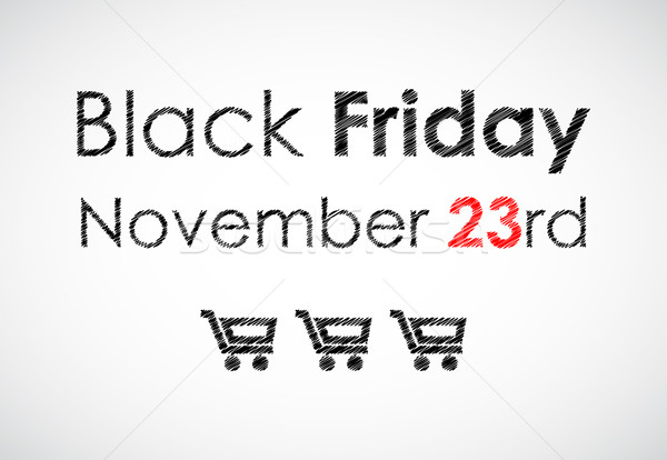 special black friday banner for your website Stock photo © place4design