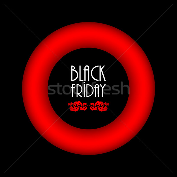 black friday abstract background, advertising banner with specia Stock photo © place4design