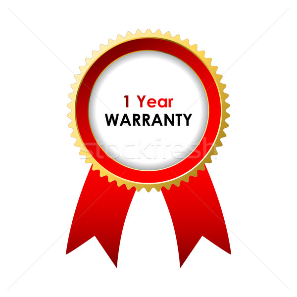 1 year warranty label with special design Stock photo © place4design
