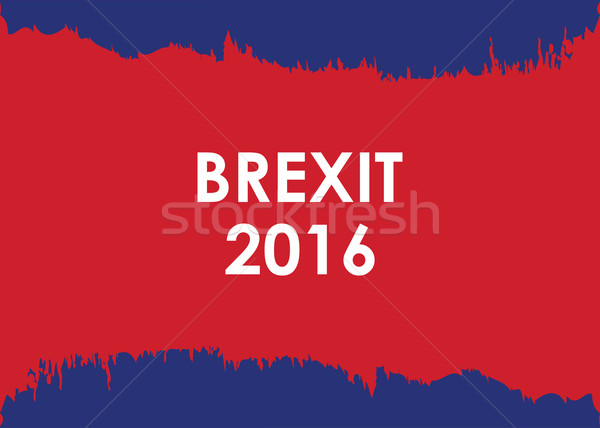 abstract brexit 2016 banner Stock photo © place4design
