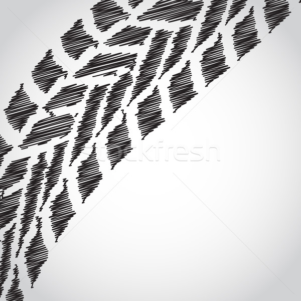 аннотация шин эскиз дизайна дороги фон Сток-фото © place4design