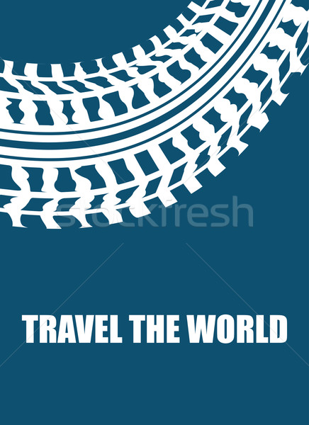 travel the world abstract background Stock photo © place4design