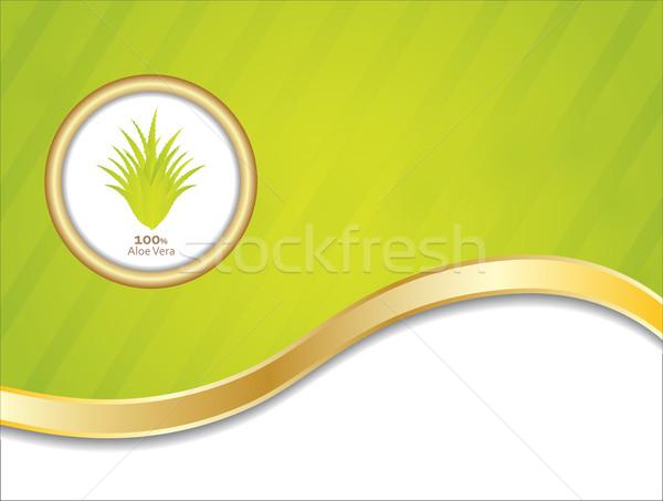Especial aloe resumen médicos medicina petróleo Foto stock © place4design