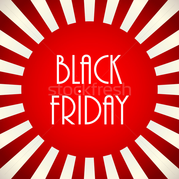 black friday abstract banner Stock photo © place4design