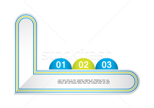 modern label template with special design Stock photo © place4design