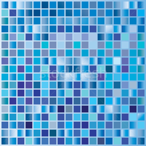 Abstract square pixel mosaic background Stock photo © place4design
