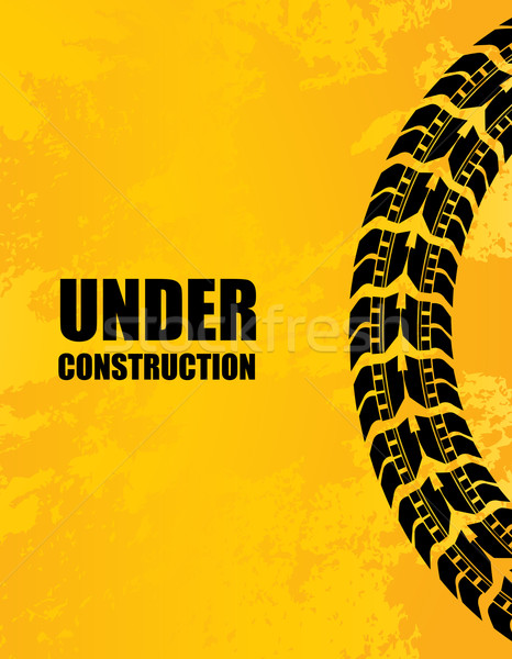 under construction background Stock photo © place4design