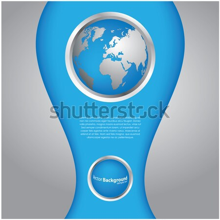 special blue background Stock photo © place4design