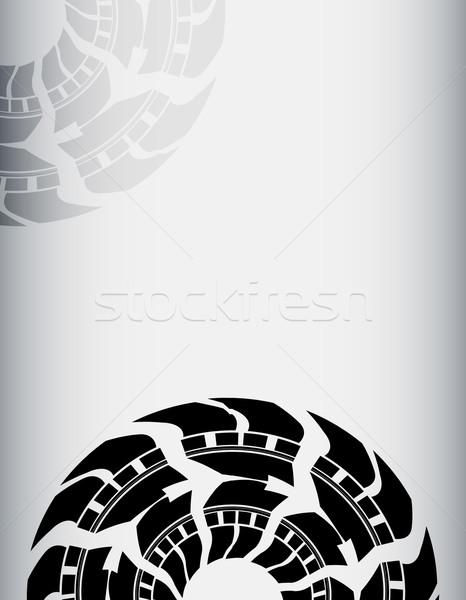 Résumé pneu voiture texture rue design Photo stock © place4design