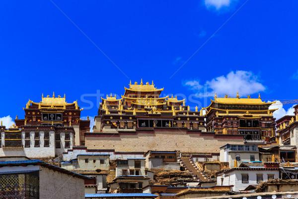 Ganden Sumtseling Monastery Stock photo © pngstudio