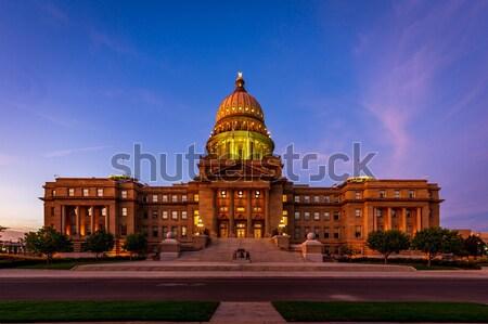 Idaho edifício Estados Unidos 2012 renascimento político Foto stock © pngstudio
