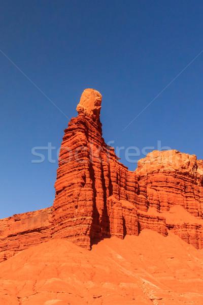 дымоход рок пустыне Сток-фото © pngstudio