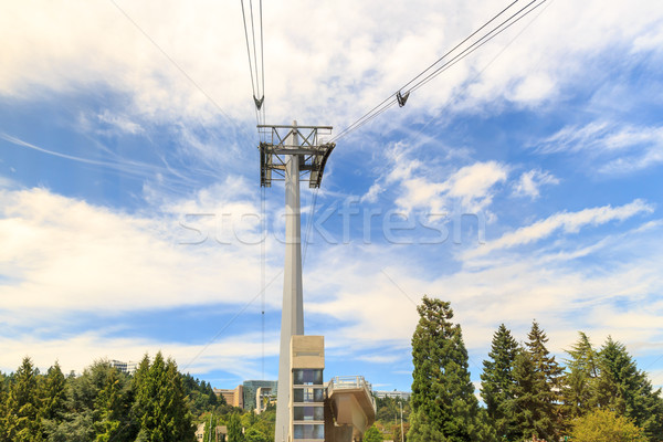 Portland Aerial Tram Tower Stock photo © pngstudio
