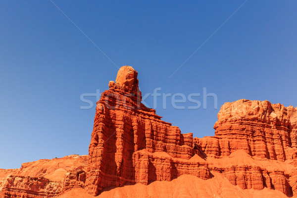 Baca kaya çöl Stok fotoğraf © pngstudio