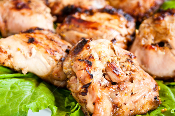 grilled meat Stock photo © podsolnukh