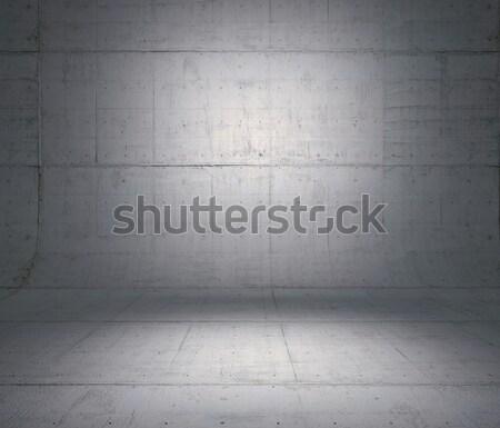 Concret room Stock photo © podsolnukh