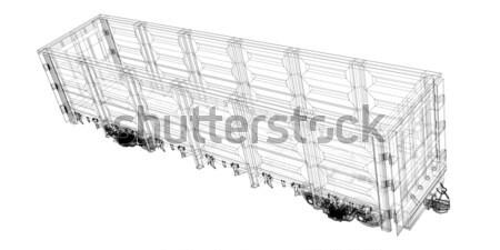 Cargo Delivery Vehicle Stock photo © podsolnukh