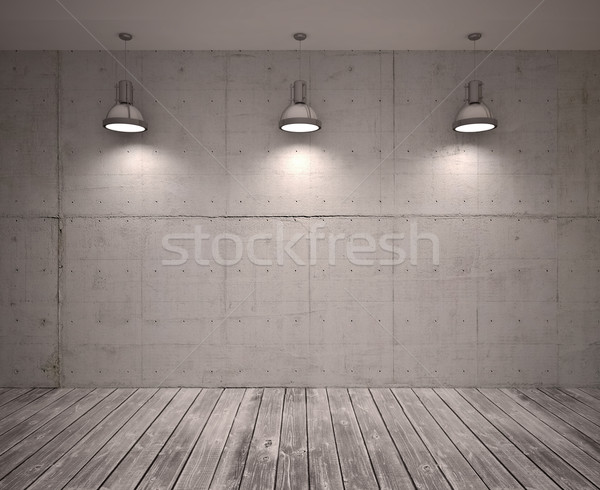 Poster in room Stock photo © podsolnukh