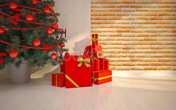 Christmas  interior details Stock photo © podsolnukh