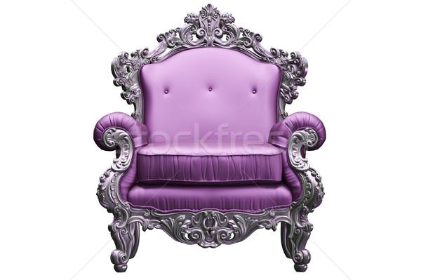 Baroque armchair Stock photo © podsolnukh
