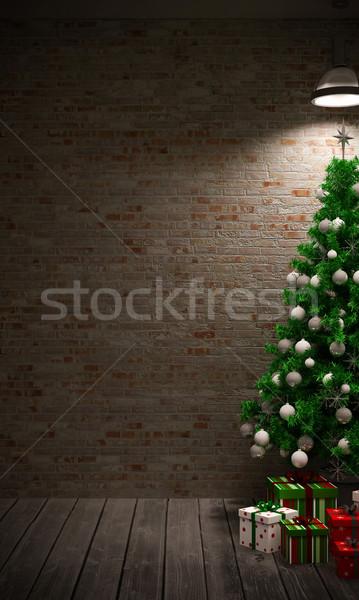 Christmas tree Stock photo © podsolnukh