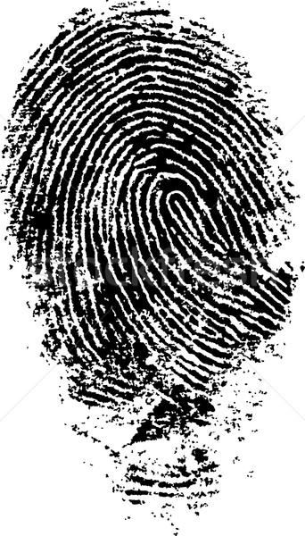 FingerPrint 4 Stock photo © PokerMan