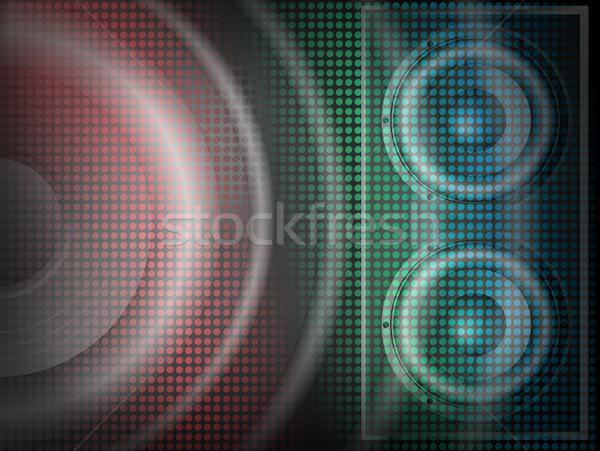 Bright Lites 8 Stock photo © PokerMan