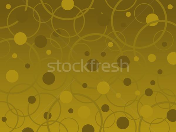 Bulles anneaux vecteur brun couleurs Photo stock © PokerMan