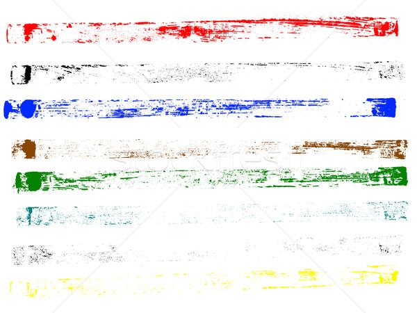 Photo stock: Grunge · plein · page · lignes