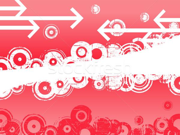 Pink Circles and Arrows Stock photo © PokerMan