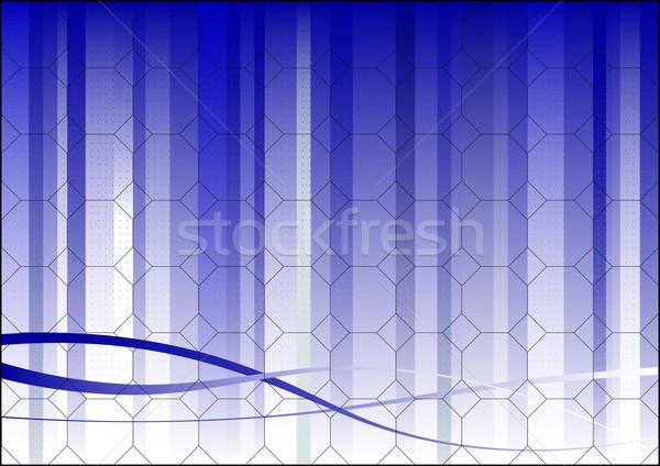 Hexagonal Business Background Stock photo © PokerMan