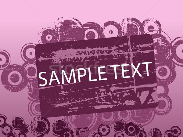 Purple текста копия пространства Гранж краской искусства Сток-фото © PokerMan