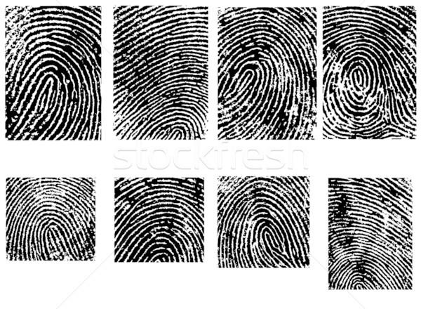 Termés különálló vektor illusztrációk biztonság nyomtatott Stock fotó © PokerMan