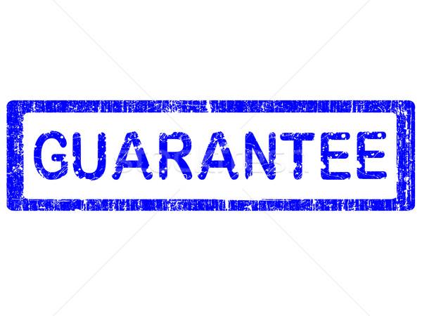 Grunge Office Stamp - GUARANTEE Stock photo © PokerMan