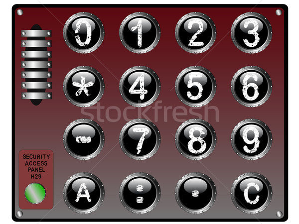 Security KeyPad Stock photo © PokerMan