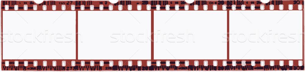 Film Strip in Vector format Stock photo © PokerMan