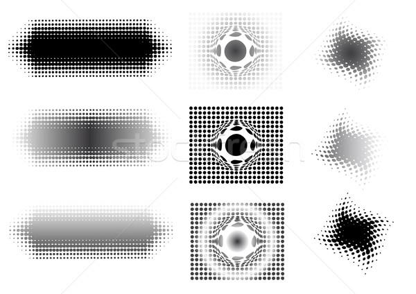 Circulaire graphique transparent vecteur peuvent Photo stock © PokerMan