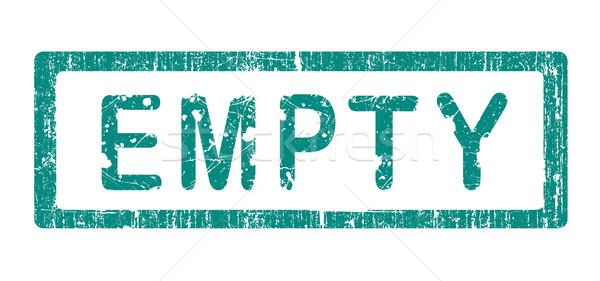 Grunge bureau tampon vide mots texte Photo stock © PokerMan